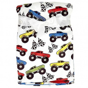 Baby Boy Monster Truck Soft Blanket 80cm X 100cm