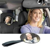 Vktech® Car Back Seat Mirror Baby Facing Rear View Headrest Mount Mirror Safety
