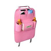 Car Backseat Organiser, Didihou Multi-Purpose Seat Back Protector Kick Mat Bag Holder for iPad, Baby Travel Accessories, Bottles, Books and Tissue Box