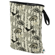 Planet Wise Wet Bag, Menagerie Twill, Large