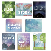 The World Mini Collection Wall Card Prints, Inspirational Phrases, Motivational Wall Quotes, Wall Decoration