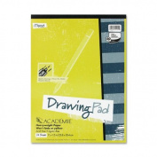 Mead Académie Drawing Pad, 24 Sheets, 23cm x 30cm Sheet Size