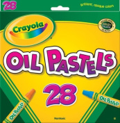 Crayola Oil Pastels - 28 Ct - Crayola Oil Pastels - 28 Ct. Explore The Fun Techniques And Look Of Oil Pastels. The Smooth, Blendable Colours Are Easy To Apply And Allow Colours To Be Mixed For Endless