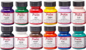 Angelus Brand Acrylic Paint Starter Kit 12 30ml Leather Vinyl Sneaker