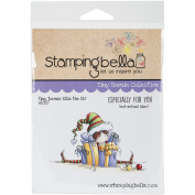 Stamping Bella Cling Stamp 6.5x4.5-Tiny Townie Ellie The Elf