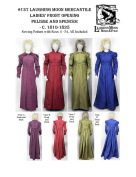 LM137 - 1810-1825 Regency Front Opening Pelisse & Spencer Pattern by Laughing Moon