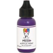 Dina Wakley Media Heavy Body Acrylic Paint 30ml-Blackberry