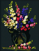 CaptainCrafts New Paint by Number Kits - Elegant Vase 41cm x 50cm Frameless - Diy Painting by Numbers for Adults Beginner Kids