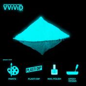 VViViD Aqua Glow In The Dark Pigment Powder 30 gr / 30ml