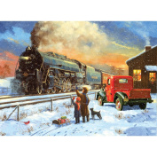 Paint By Number Kit 39cm x 29cm -Home For Christmas
