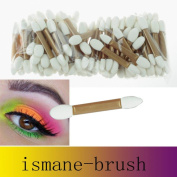 Makeup Brushes,ABCsell 50 pcs Disposable Double Ended Sponge Brush Eye Shadow Applicator Tools