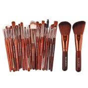 Makeup Brushes,ABCsell Women Girls Cosmetic Makeup Brushes 22pcs Eye Shadow Brushes Blusher Kit