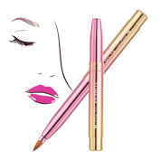 Lip Brushes Retractable-for Lip Brushes Lipstick with Lip Punch Applicators Liner Lip Brushes Makeup