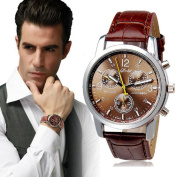 Men's Watch,Toamen New Luxury Fashion Crocodile Faux Leather Mens Analogue Watch Watches