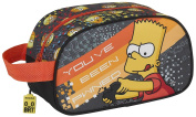 Safta The Simpsons Technology Cosmetic Bag, 26 cm, Grey