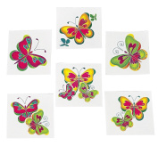 Kids Temporary Butterfly Tattoos (Party Favour Pack