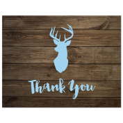 50 cnt Deer Head Thank You Cards