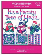 Frosty Snowmen (Chart 3130) Cross Stitch Chart and Free Embellishment
