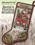 Santa's Hunting Stocking (Leaflet 366) Cross Stitch Chart and Free Embellishment