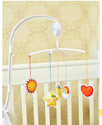 DIY 11ct cotton Cross Stitch Baby bed bell wind up music bell,crib mobile toys counted cross stitch kits