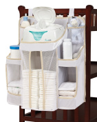 Vencer Nursery Waterproof Organiser and Baby Nappy Caddy