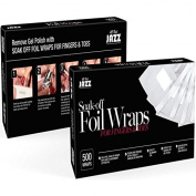 All That Jazz - Soak-Off Foil Wraps For Fingers & Toes