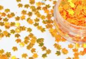 Nail Art Autumn Maple Leaf