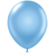 28cm Party Style Shimmering Blue Helium Balloons