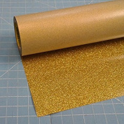 Siser Glitter Gold 50cm x 3m Iron on Heat Transfer Vinyl Roll, HTV