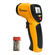 Infrared Thermometer, Helect Non-contact Digital Laser Infrared Thermometer Temperature Gun -58°F to 1022°F (-50°C to 550°C) with LCD Display