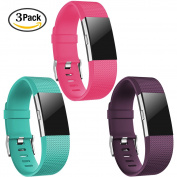 For Fitbit Charge 2 Bands, Humenn Adjustable Replacement Strap for Fitbit Charge 2