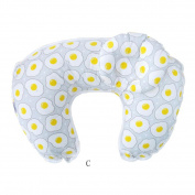 Baby Breastfeeding Pillow Support, Inkach 2Pcs Infant Breastfeeding Pregnancy Maternity Pillow Cuddle Baby Mom Nursing Cushion Support Gift