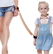 Child Safety Leash Anti Lost Wrist Link Safety Hook and loop Wrist Link for Toddlers, Babies & Kids (Blue) by BESTCHOICE