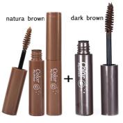 2Pcs Eyebrow Gel Tint Mascara Cream Eye Brow Painting Waterproof Pigment Eyebrow Make Up Cosmetics Eye Beauty