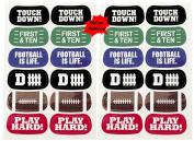 Football Face Tattoos- 12 sheets
