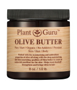Olive Body Butter 240ml 100% Pure Raw Fresh Natural Cold Pressed. Skin Body and Hair Moisturiser, DIY Creams, Balms, Lotions, Soaps.