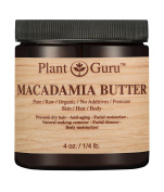 Macadamia Body Butter 120ml100% Pure Raw Fresh Natural Cold Pressed. Skin Body and Hair Moisturiser, DIY Creams, Balms, Lotions, Soaps.