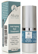 ANTI ageing EYE TREATMENT Combats Dark Circles and Puffiness Crows Feet Fine Lines and Bags Firms and Strengthens the Delicate Under Eye Tissue