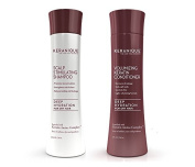 Keranique Deep Hydration Scalp Stimulating Shampoo and Volumizing Conditioner Set