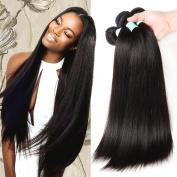 Fairgreat 7A Brazilian Straight Hair Weaves 3pcs/lot Virgin Remy Human Hair Bundles Natural Colour