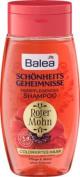 Balea Beauty Secrets Shampoo Red poppy, 250 ml - German product