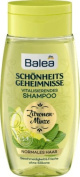 Balea Beauty Secrets Shampoo Lemon Mint, 250 ml - German product