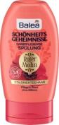 Balea Beauty Secrets Hair Conditioner Red Poppy, 200 ml - German product