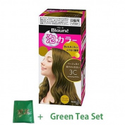 Kao Blaune Bubble Hair Colour For Grey Hair - 3C Caramel Brown
