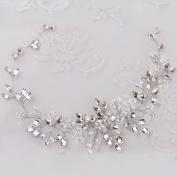 Missgrace Bridal Crystal Hair Vine Wedding Vintage Headband Birthday Crown Women Party Halloween Hair Accessories Wedding Hair Jewellery