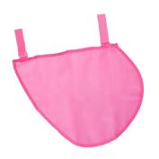 MonkeyJack Baby Infant Stroller Hanging Mesh Bag Bottle Item Trolley Storage Basket Net - Pink, 35×30cm