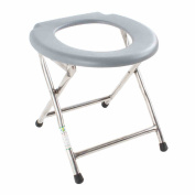 Ali Folding stainless steel portable toilet bench / pregnant woman bath chair / patient sitting chair