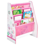 Girls Generic Flowers and Birds Sling Bookcase + Girls Generic Flowers and Birds Toy Box