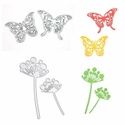 GOOTRADES Paper Craft Cutting Dies Kit Stencil Metal Mould for DIY Scrapbook