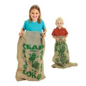 Outdoor Interactive Children Potato Sacks Jumping Frog Linen Bag Team Game Toy